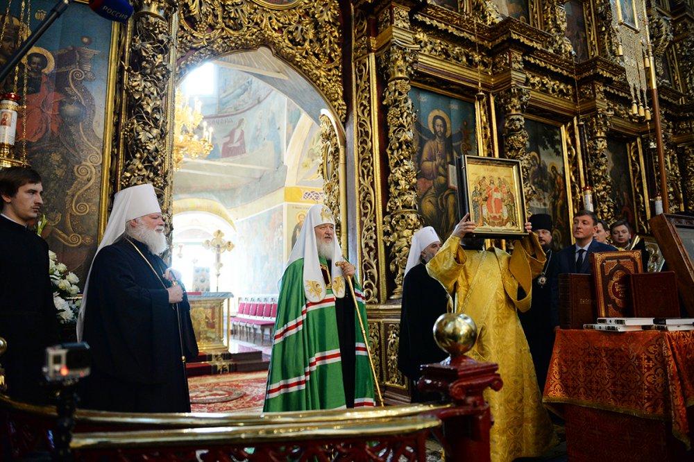 Слово Святейшего Патриарха Кирилла в Троицком кафедральном соборе г. Пскова (ВИДЕО)