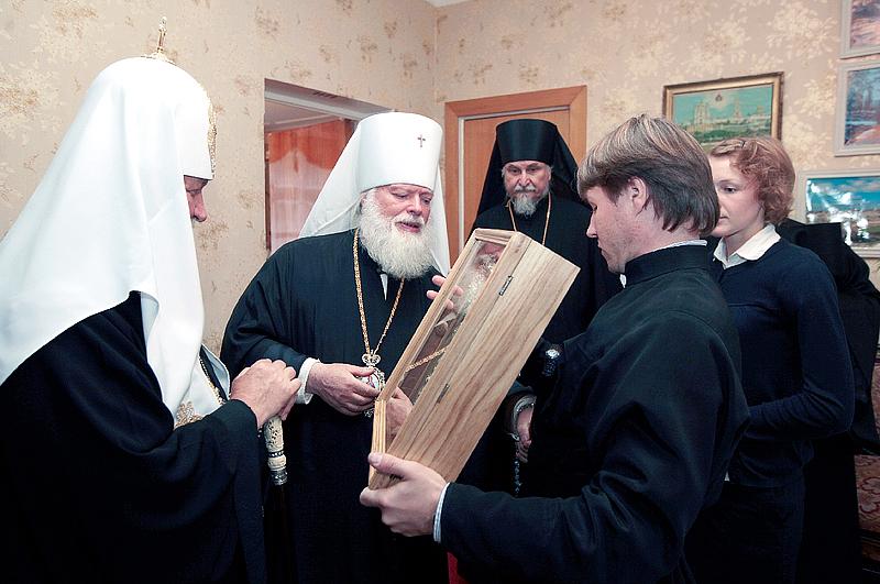 Завершился визит Святейшего Патриарха Кирилла в Псковскую и Великолукскую епархию (ВИДЕО)