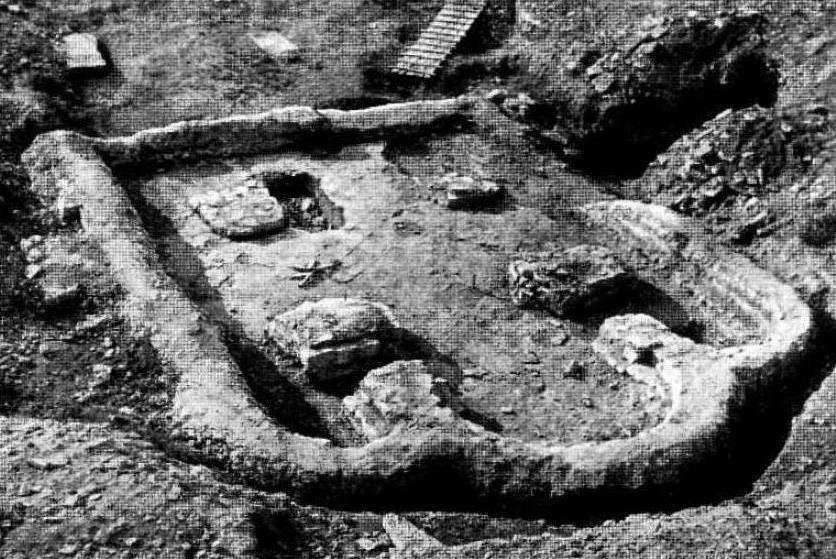 Церковь Кирилла 1374 г. в Пскове (По материалам археологических раскопок)