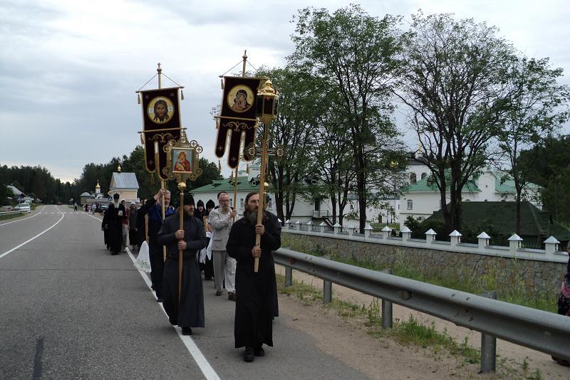 В Псковской епархии восстановлен крестный ход «Дорога Спасителя»