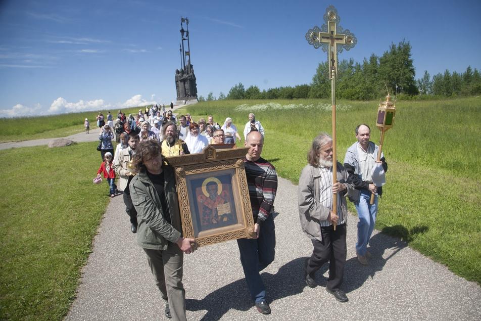 Крестный ход вокруг Пскова состоится 16 июля