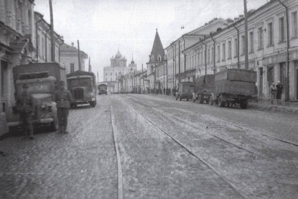 Псковский музей в годы оккупации. Судьба коллекций