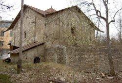 В Пскове продолжается реставрация храма Сергия с Залужья (ВИДЕО)
