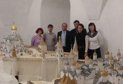 Председатель Государственного комитета Псковской области по экономическому развитию, промышленности и инвестициям Дмитрий Равикович посетил ЕПЦ Вертограда
