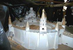 Большой макет Псковского Кремля (май 2006г.)