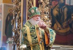 Митрополит Псковский и Порховский Евсевий, глава Псковской Митрополии, 5 апреля 2015 года