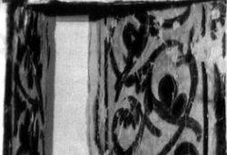 Рис. 42. Роспись амбразуры окна. Фрагмент фрески из храма Покрова Богородицы в Довмонтовом городе г.Псков