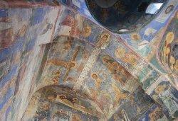 Первосвятительский визит в Псковскую епархию. Посещение Псковского епархиального управления, Мирожского монастыря и расположения 76-й гвардейской десантно-штурмовой дивизии