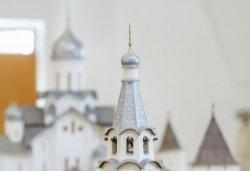 Большой макет Псковского кремля в формах XV века, сентябрь 2013 года