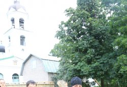 Крестный ход с иконой Спаса Елеазаровского на Талабские острова 12 июля 2012 года. Фоторепортаж Андрея Кокшарова