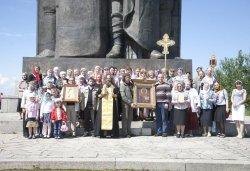 Крестный ход вокруг Пскова 13 июня 2012 года. Фоторепортаж Андрея Кокшарова