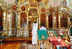Иконостас Вознесенского храма г.Кашина востановленный под руководством Николая Тимофеева