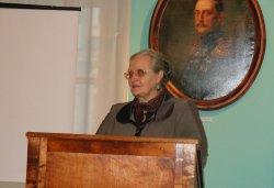 Вера Алексеевна Никонова, директор Кашинского краеведческого музея с 1974 по 1993 гг.