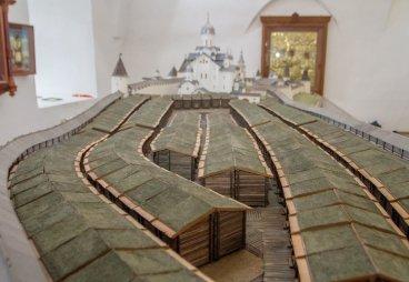 (ФОТО) Дерягин А. Г. Большой макет Псковского кремля (история создания)